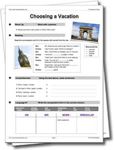 Business ESL Worksheets