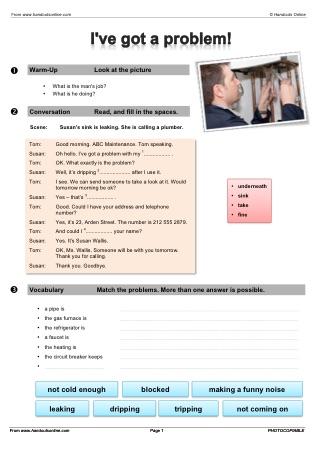 esl vocabulary worksheets from handouts online. Black Bedroom Furniture Sets. Home Design Ideas
