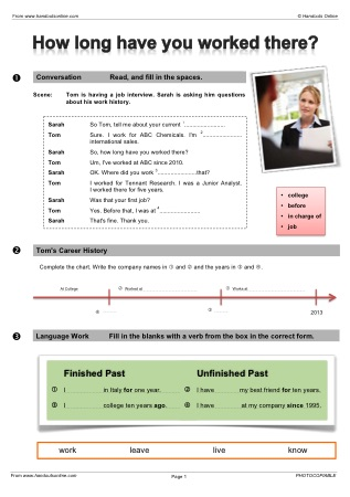esl lesson plans for business english