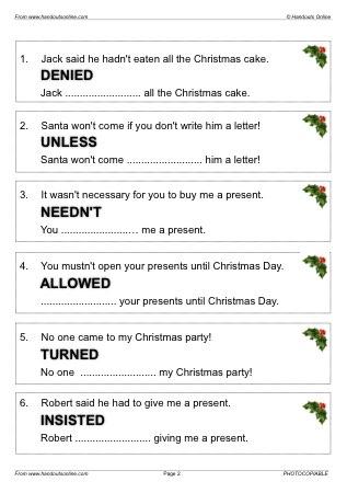 Esl adults christmas lesson plans