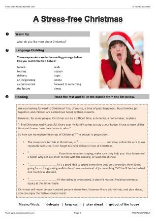 Efl esl reading worksheets and activities from handouts online title ibookread Download