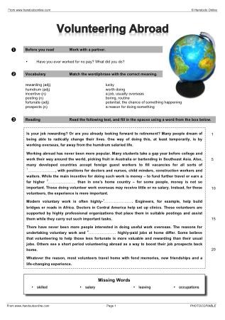 intermediate level esl efl worksheets activities and