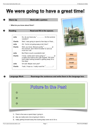 Future tense english worksheets activities and lesson for Future planner online