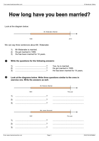 Present Perfect Efl Esl Search Worksheet Results
