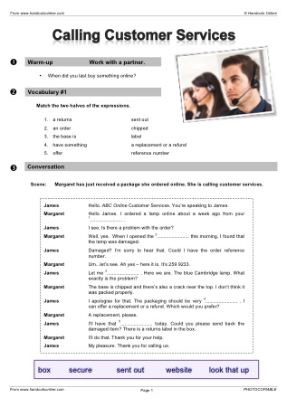 Job Vocabulary EFL ESL Search Worksheet Results